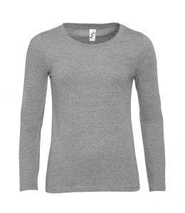 New SOL'S Majestic Women's LSL T-Shirt