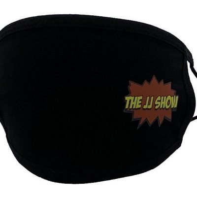 JJ Show Black Face Mask Left Print