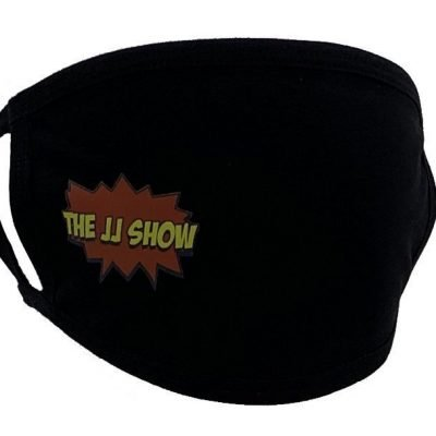 JJ Show Black Face Mask Right Print