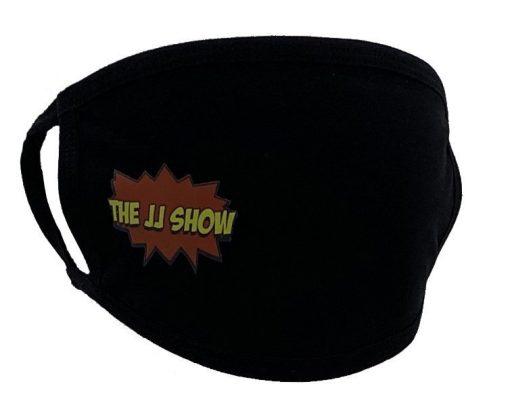JJ Show Black Face Mask Right Print