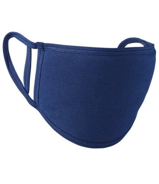 Decorated Face Mask - Blue Face Mask
